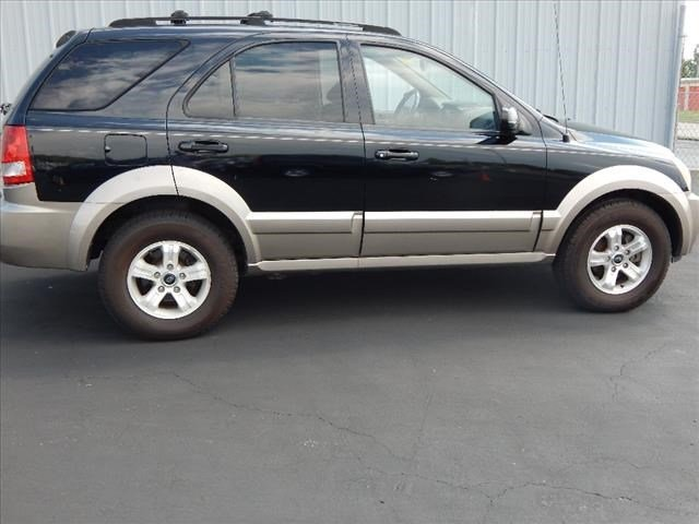 2005 Black Kia Sorento EX SUV Automatic 4 Door