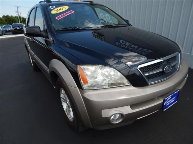 2005 Black Kia Sorento EX SUV Automatic 4 Door 4X4