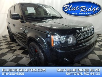 2012 Buckingham Blue Land Rover Range Rover Sport HSE 4X4 4 Door SUV Automatic