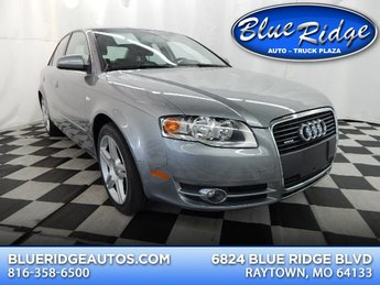 2007 Quartz Gray Metallic Audi A4 2.0T AWD 4 Door Automatic 2.0L 4 cyls Engine
