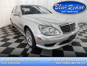 2003 Brilliant Silver Metallic Mercedes-Benz S55 AMG AMG 5.4L V8 Engine 4 Door RWD Automatic Sedan