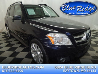 2010 Capri Blue Metallic Mercedes-Benz GLK350 GLK 350 AWD 4 Door 3.5L V6 Engine