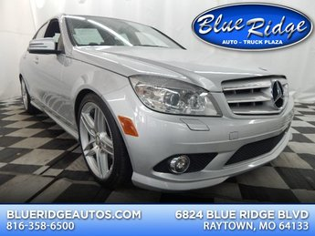 2010 Iridium Silver Metallic Mercedes-Benz C300 C 300 Sport Sedan Automatic 3.0L V6 Engine