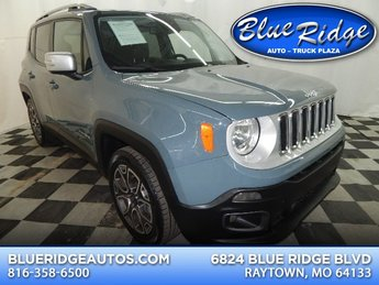 2017 Glacier Metallic Jeep Renegade Limited 4 Door SUV FWD Automatic