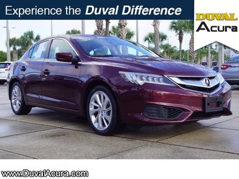 2016 Basque Red Pearl II Acura ILX 2.4L w/Premium Package FWD Sedan 4 Door Automatic 2.4L I4 DOHC i-VTEC 16V Engine