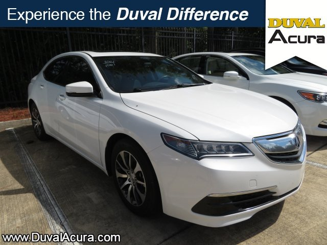 2015 Acura TLX 2.4L Base Automatic 2.4L DOHC 16V Engine FWD Sedan 4 Door