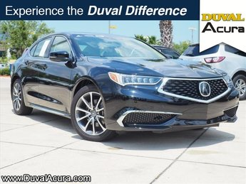 2018 Crystal Black Pearl Acura TLX V6 w/Technology Pkg FWD 4 Door Sedan Automatic