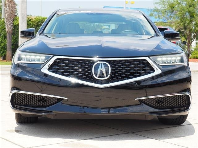 2018 Crystal Black Pearl Acura TLX V6 w/Technology Pkg 4 Door Sedan 3.5L V6 SOHC VTEC 24V Engine FWD Automatic