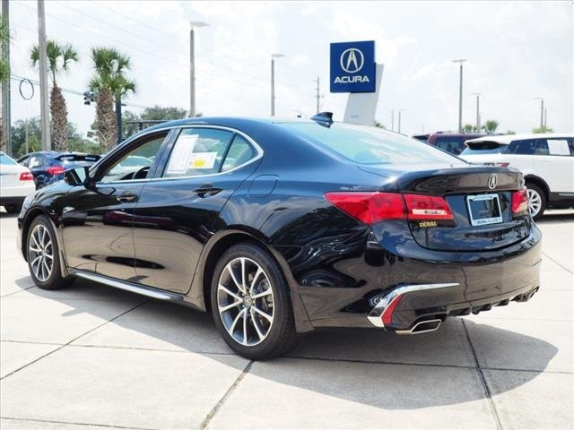 2018 Crystal Black Pearl Acura TLX V6 w/Technology Pkg 4 Door Sedan Automatic 3.5L V6 SOHC VTEC 24V Engine FWD
