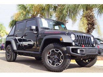 2016 Black Clearcoat Jeep Wrangler Rubicon Hard Rock 4 Door 4X4 SUV Automatic 3.6L V6 24V VVT Engine