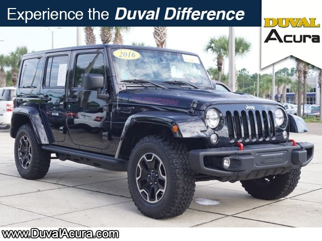 2016 Jeep Wrangler Rubicon Hard Rock SUV 4X4 3.6L V6 24V VVT Engine