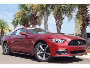 2017 Ford Mustang EcoBoost EcoBoost 2.3L I4 GTDi DOHC Turbocharged VCT Engine Coupe Automatic 2 Door