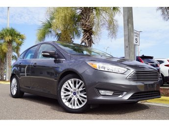 2015 Ford Focus Titanium 4 Door 2.0L 4-Cylinder DGI DOHC Engine FWD Manual Hatchback
