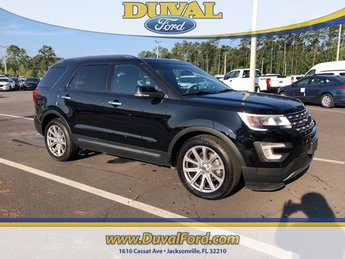2017 Shadow Black Ford Explorer Limited FWD 4 Door Automatic 3.5L 6-Cylinder SMPI Turbocharged DOHC Engine SUV