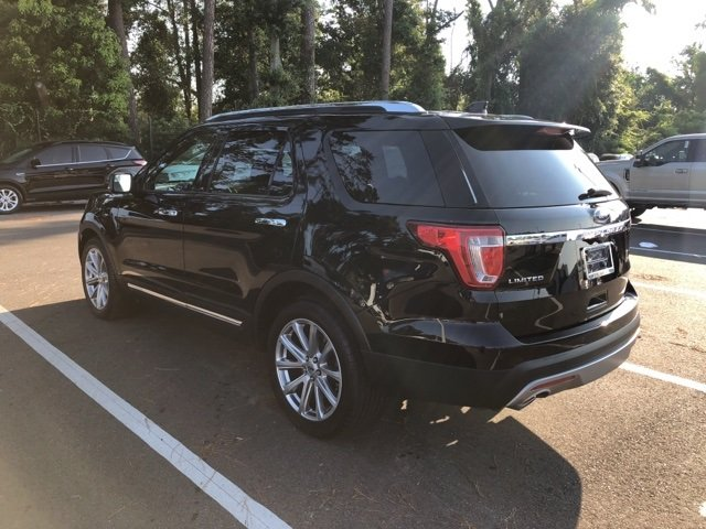 2017 Ford Explorer Limited SUV FWD 3.5L 6-Cylinder SMPI Turbocharged DOHC Engine 4 Door