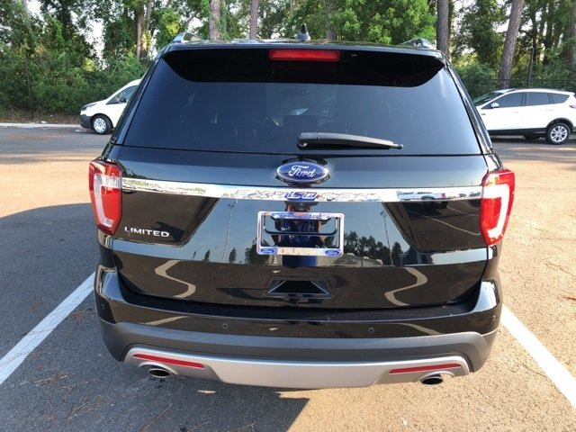 2017 Shadow Black Ford Explorer Limited 3.5L 6-Cylinder SMPI Turbocharged DOHC Engine Automatic 4 Door SUV FWD