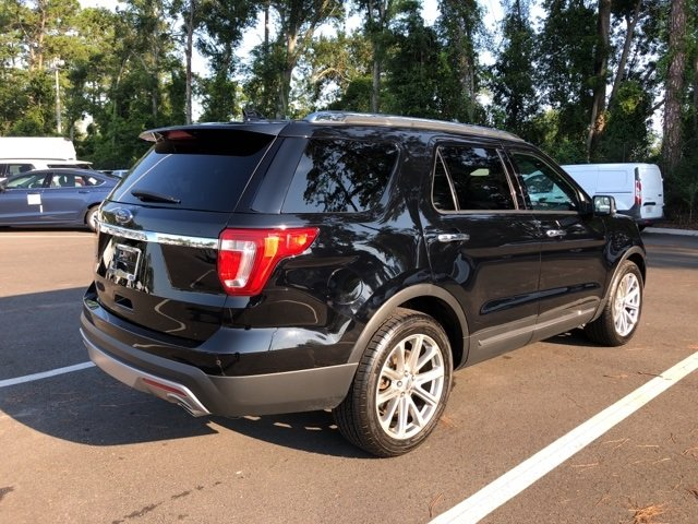 2017 Shadow Black Ford Explorer Limited FWD 4 Door Automatic
