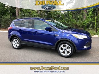 2015 Deep Impact Blue Ford Escape SE FWD SUV Automatic 4 Door EcoBoost 1.6L I4 GTDi DOHC Turbocharged VCT Engine