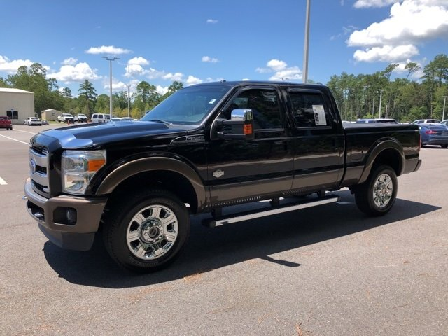 2016 Ford Super Duty F-350 SRW King Ranch 4 Door 4X4 Truck Power Stroke 6.7L V8 DI 32V OHV Turbodiesel Engine Automatic
