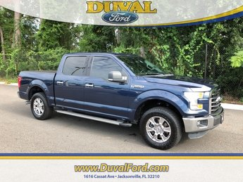2015 Blue Jeans Metallic Ford F-150 XLT Automatic 4 Door Truck 5.0L V8 FFV Engine
