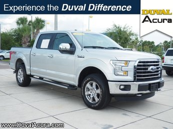 2016 Ingot Silver Metallic Ford F-150 XLT Automatic Truck 4 Door