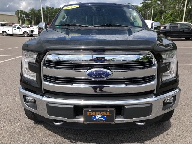 2015 Ford F-150 Lariat Truck Automatic EcoBoost 3.5L V6 GTDi DOHC 24V Twin Turbocharged Engine 4 Door