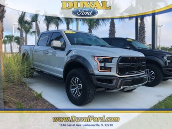 2017 Ford F-150 Raptor 4 Door 4X4 Automatic EcoBoost 3.5L V6 GTDi DOHC 24V Twin Turbocharged Engine
