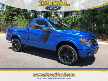 2014 Blue Flame Metallic Ford F-150 FX4 Tremor Automatic Truck 2 Door