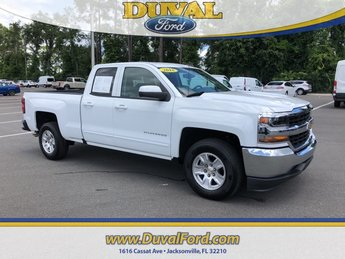 2018 Summit White Chevrolet Silverado 1500 LT Truck V8 Engine Automatic