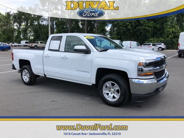 2018 Summit White Chevrolet Silverado 1500 LT 4 Door V8 Engine Automatic Truck