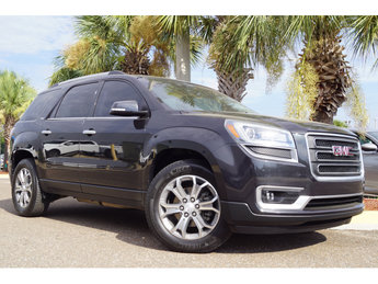 2014 Carbon Black Metallic GMC Acadia SLT SUV Automatic 4 Door 3.6L V6 SIDI Engine