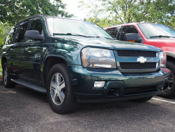 2006 Emerald Jewel Metallic Chevrolet TrailBlazer EXT LT 4X4 SUV Vortec 5.3L V8 SFI Engine