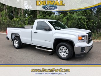 2015 Summit White GMC Sierra 1500 Base Automatic RWD Truck V8 Engine 2 Door