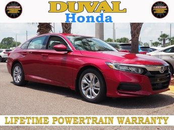 2018 Honda Accord LX 4 Door I4 DOHC 16V Turbocharged Engine Sedan Automatic (CVT)