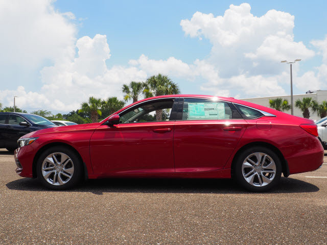2018 Radiant Red Metallic Honda Accord LX 4 Door Automatic (CVT) Sedan FWD
