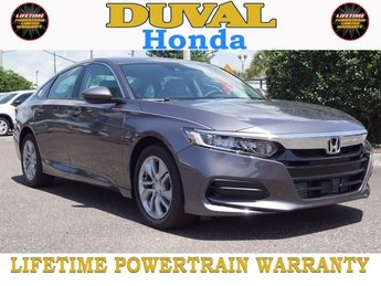 2018 Honda Accord LX 4 Door FWD I4 DOHC 16V Turbocharged Engine