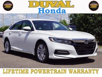 2018 Honda Accord LX Sedan Automatic (CVT) FWD