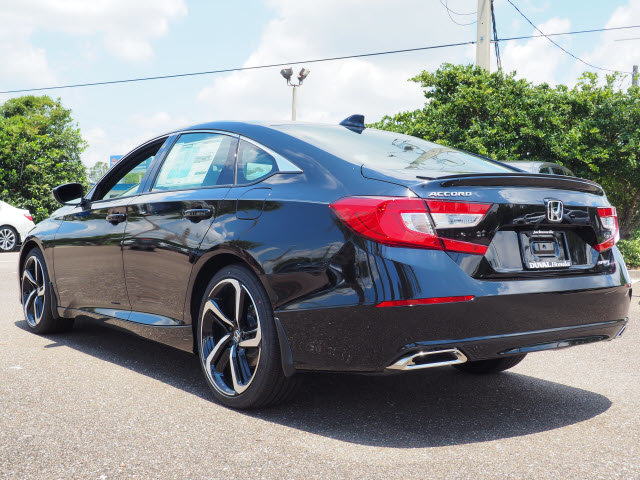 2018 Crystal Black Pearl Honda Accord Sport 4 Door Automatic (CVT) Sedan