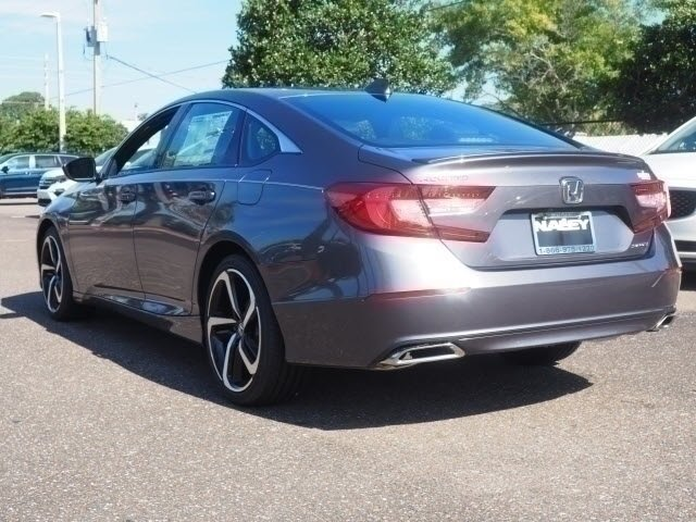 2018 Modern Steel Metallic Honda Accord Sport FWD Sedan Automatic (CVT)