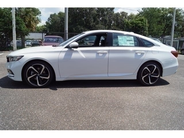 2018 Still Night Pearl Honda Accord Sport Automatic (CVT) Sedan I4 DOHC 16V Turbocharged Engine 4 Door