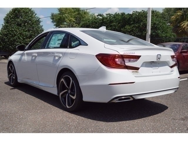 2018 Still Night Pearl Honda Accord Sport FWD I4 DOHC 16V Turbocharged Engine 4 Door Automatic (CVT)