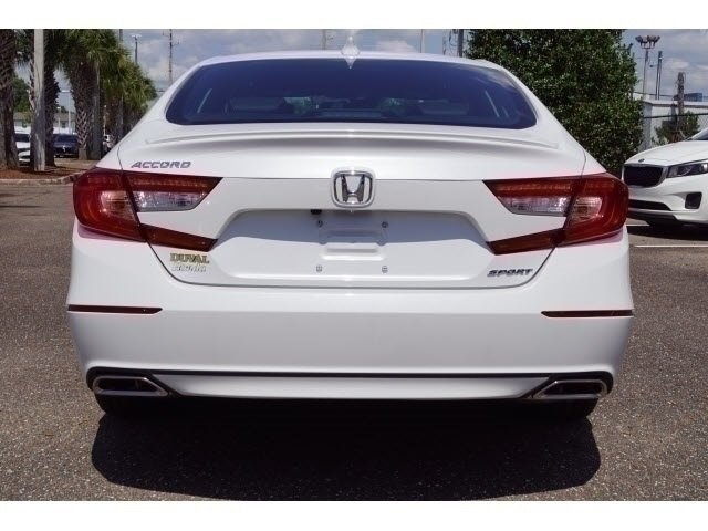 2018 Still Night Pearl Honda Accord Sport Automatic (CVT) 4 Door FWD Sedan