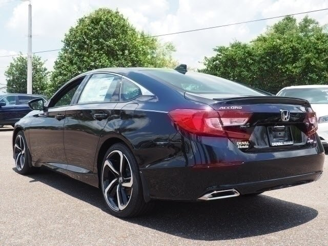 2018 Honda Accord Sport Automatic (CVT) Sedan I4 DOHC 16V Turbocharged Engine