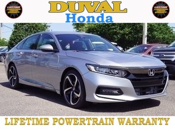 2018 Honda Accord Sport FWD Sedan 4 Door Automatic (CVT)