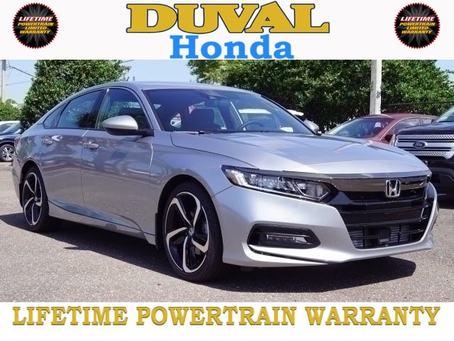 2018 Honda Accord Sport Sedan FWD 4 Door I4 DOHC 16V Turbocharged Engine