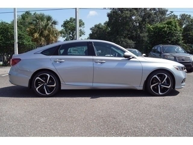 2018 Honda Accord Sport I4 DOHC 16V Turbocharged Engine FWD 4 Door Sedan