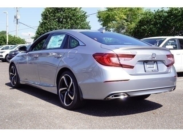 2018 Honda Accord Sport Automatic (CVT) I4 DOHC 16V Turbocharged Engine 4 Door FWD Sedan