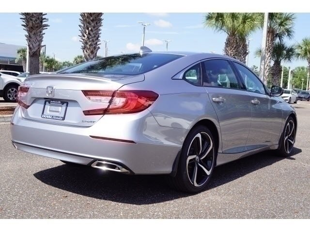 2018 Honda Accord Sport I4 DOHC 16V Turbocharged Engine Automatic (CVT) 4 Door Sedan