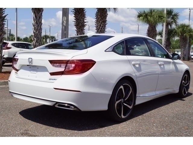 2018 Honda Accord Sport I4 DOHC 16V Turbocharged Engine Sedan FWD