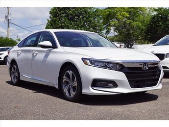 2018 Honda Accord EX-L FWD I4 DOHC 16V Turbocharged Engine Automatic (CVT) Sedan 4 Door